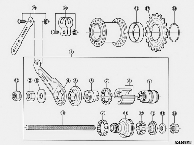 bicycle rear axle diagram  diagrams  wiring diagram images
