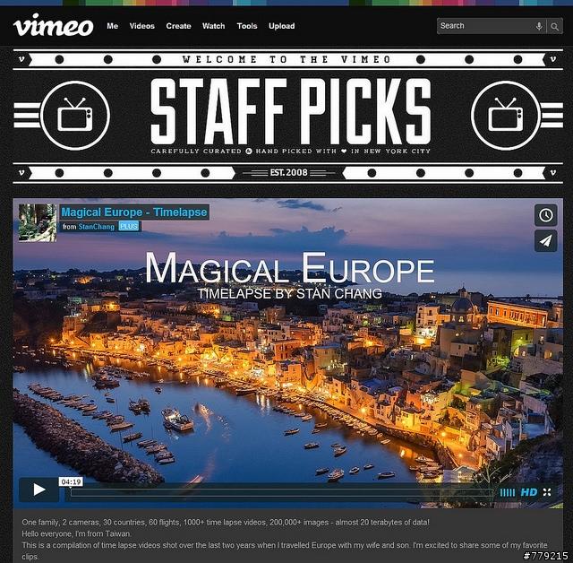 『分享』歐洲30國縮時攝影 Magical Europe Timelapse