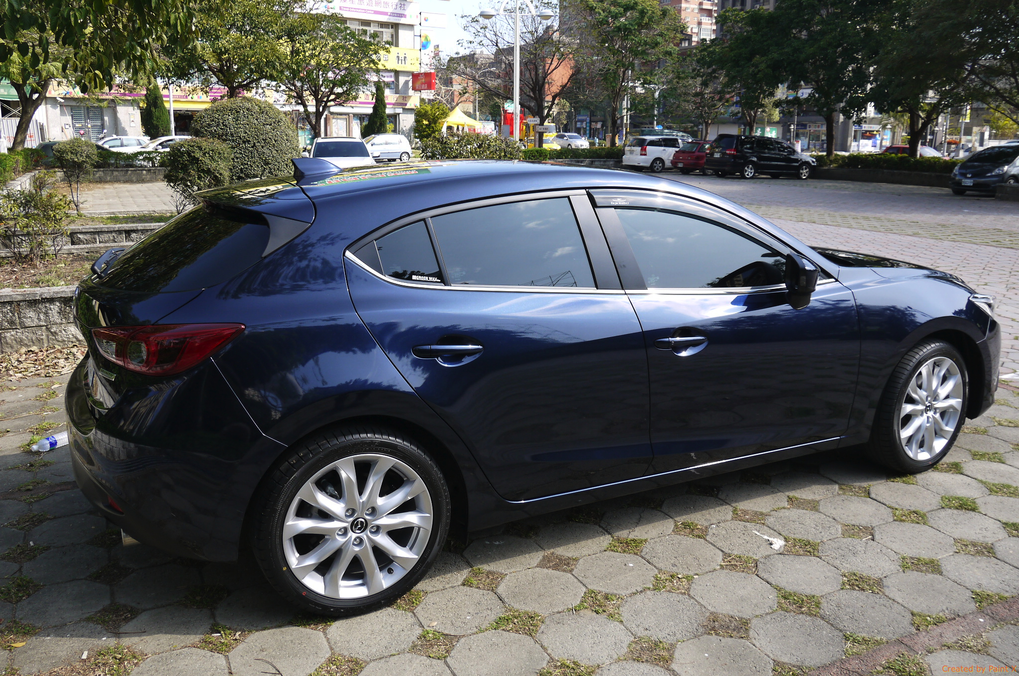 Mazda 3 Hatchback Appearance Package Furthermore Mazda 3