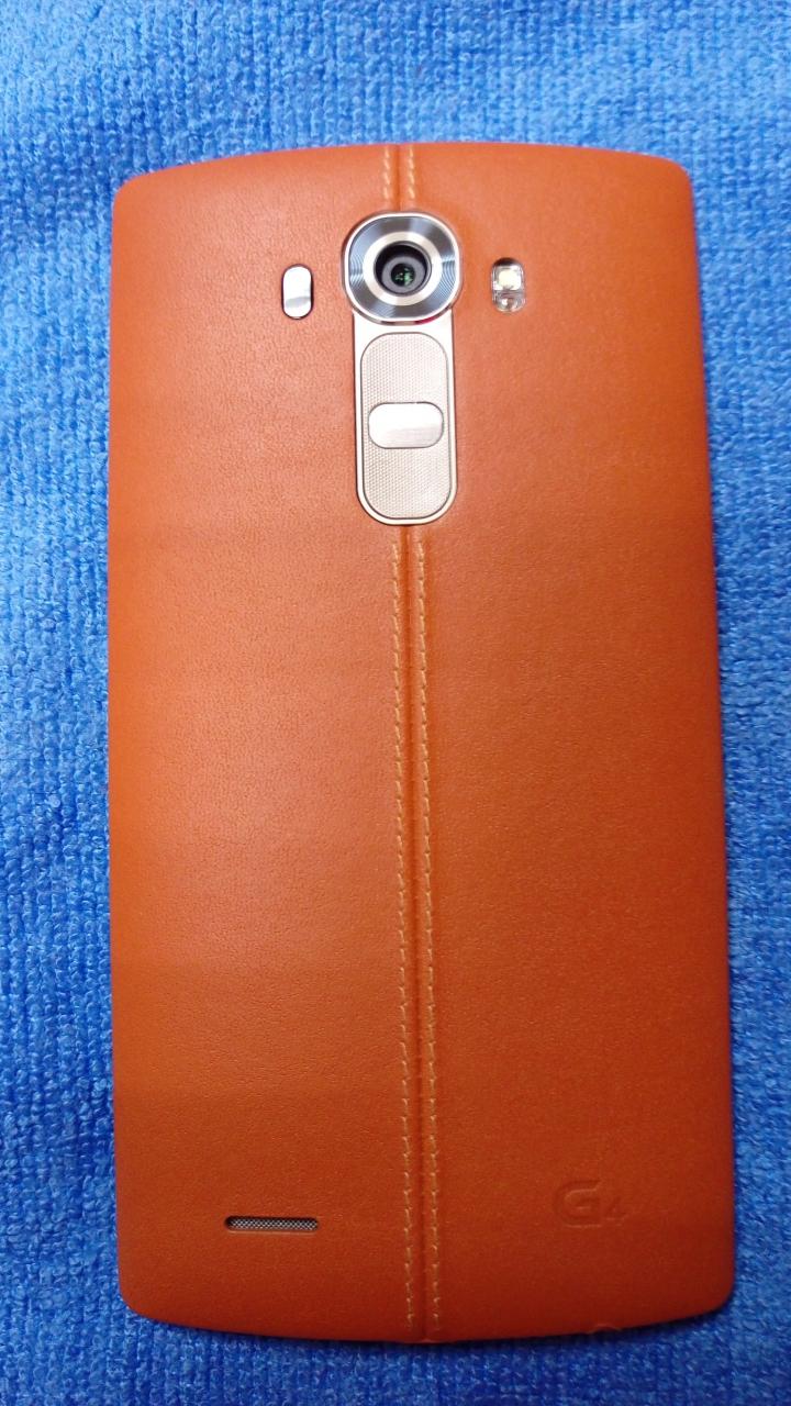 LG-G4 皮革棕 簡單開箱及心得文...