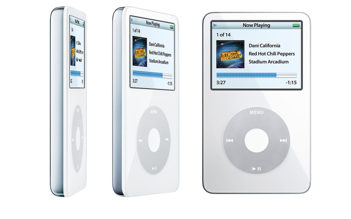 Let us miss the ipod again (ipod video 60GB out of the box)