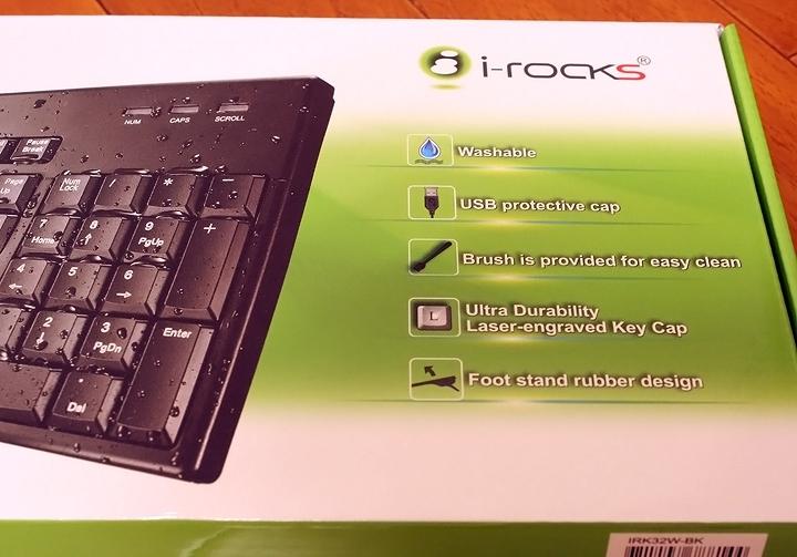 不怕死你就跟我這樣玩 艾芮克i-Rocks IRK32W 水洗鍵盤好神! - 6