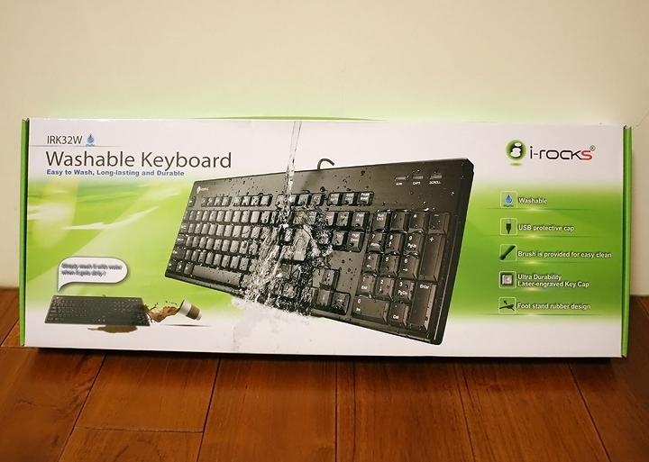不怕死你就跟我這樣玩 艾芮克i-Rocks IRK32W 水洗鍵盤好神! - 4