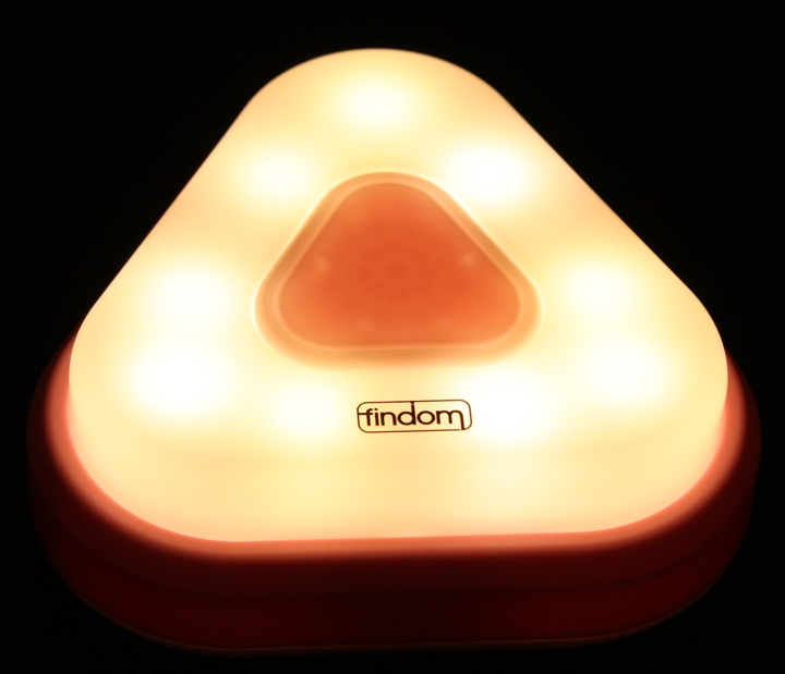 U飯糰《光控 / 警報 / 人體感應LED燈》就像一位居家安全照顧的鋼鐵人IRON MAN