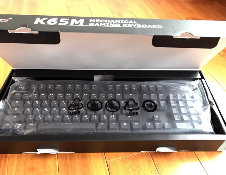 觸發快、手感佳《限量》德國Cherry茶軸 i-Rocks K65M 電競機械式鍵盤好物分享 - 6