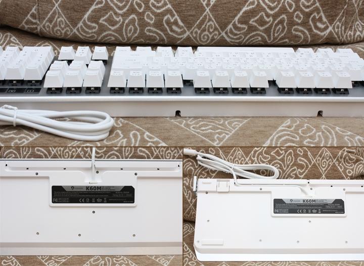 銀白炫麗 i-Rocks K60M《分行背光》RGB機械式鍵盤 開箱體驗 - 12
