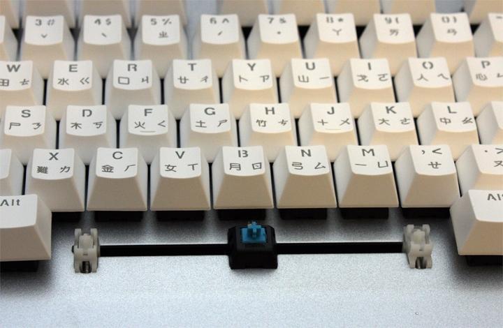 銀白炫麗 i-Rocks K60M《分行背光》RGB機械式鍵盤 開箱體驗 - 14
