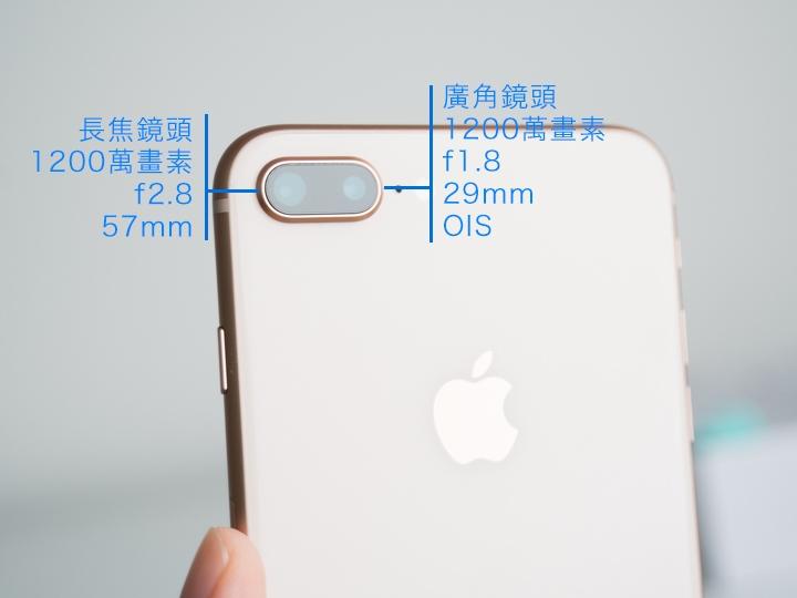 iPhone 8 Plus广角和长焦镜头