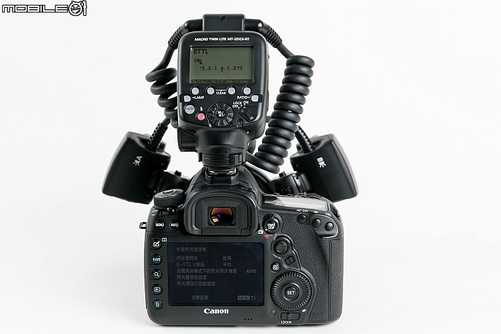 Canon Macro Twin Lite MT-26EX-RT 雙邊微距閃光燈  背面