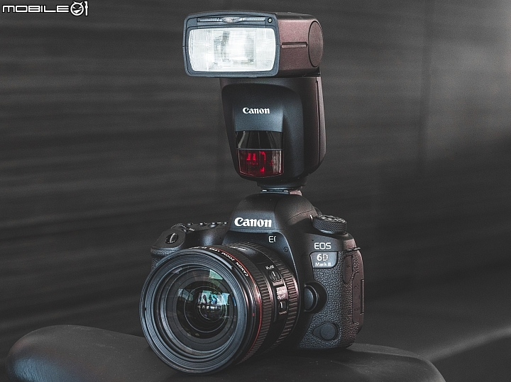 Canon EOS 6D Mark II + EF 24-70mm f/4L IS USM + Canon Speedlite 470EX-AI