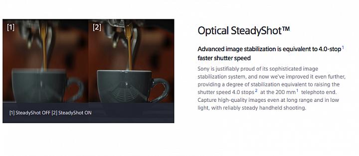 SONY RX100VI Optical Steady Shot,4級的手震補償,所以望遠端的200mm的安全快門理論上就可以延長到1/10秒