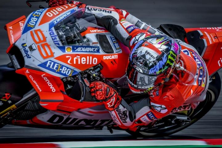 【MotoGP】西班牙加泰隆尼亞站(Circuit de Barcelona-Catalunya),Jorge Lorenzo持續跟在 Pedrosa 後方