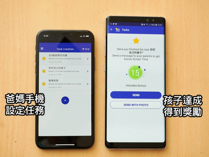 Screen Time Parental Control APP- 提供獎勵機制