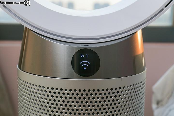 Dyson Pure Cool 智慧空氣清淨機也是一款可連網透過APP操作的空氣清淨機
