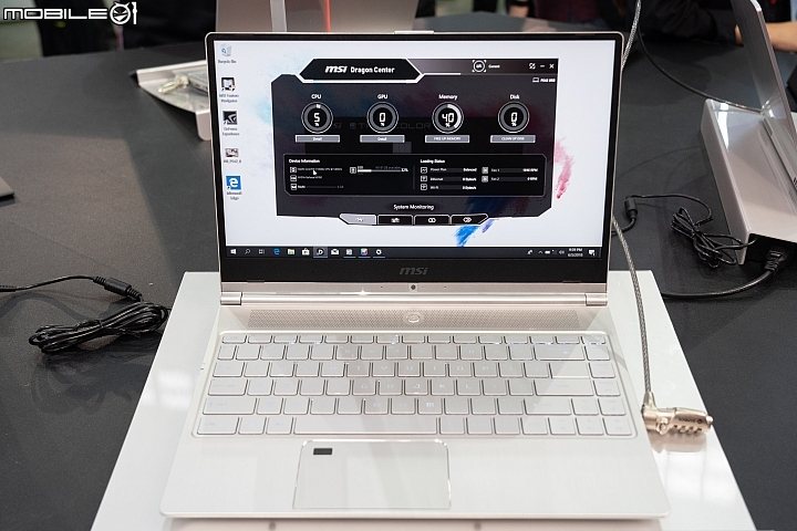 Computex 2018MSI Prestige PS42搭載 14 吋 Full HD IPS 顯示螢幕