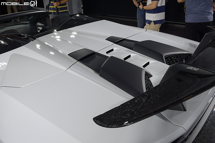 Lamborghini Huracan Performante Spyder 後尾翼