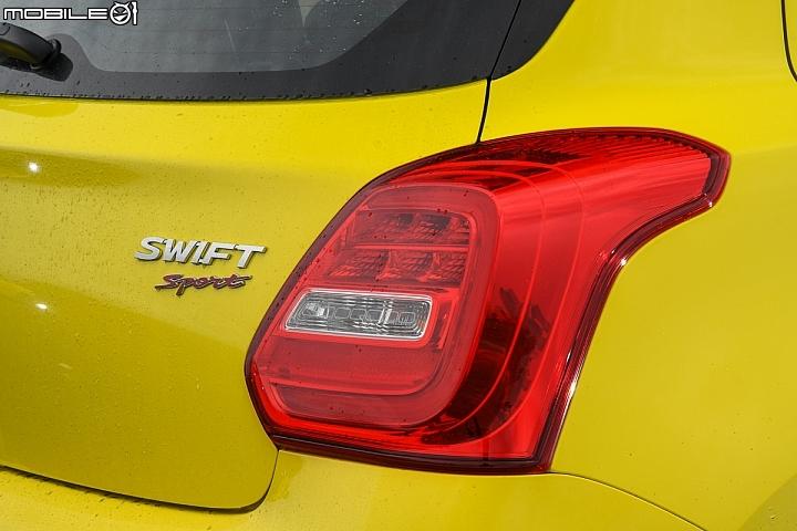 Suzuki Swift Sport-尾燈設計