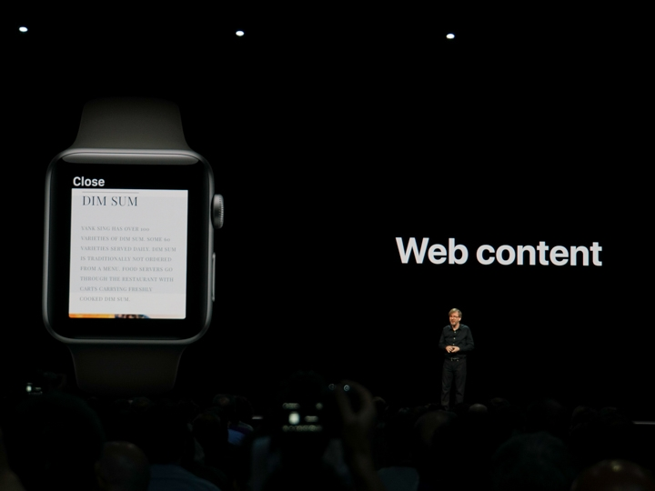 Apple Watch WatchOS 5導入WebKit,可在Apple Watch上瀏覽網頁