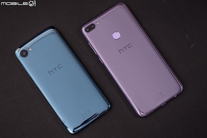 HTC Desire 12/12+ 壓克力玻璃機背的設計