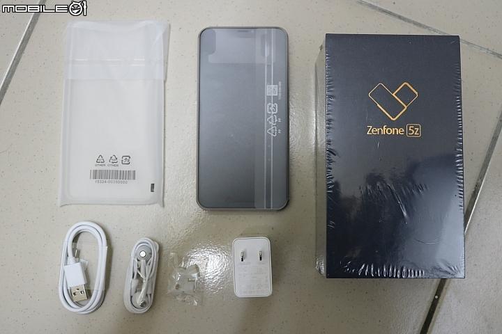【華碩智慧旗艦Zen由你拍】 Asus Zenfone 5Z 開箱