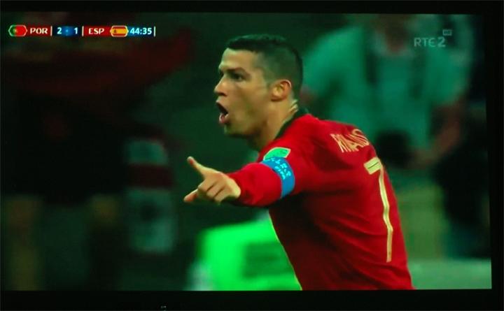 2018世界盃 用BenQ投影機看,大螢幕就是過癮!就是爽!