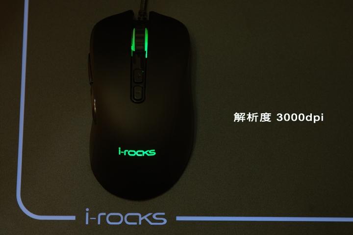 手感絕佳的吃雞神器《 i-Rocks M35 RGB 光磁微動滑鼠 》開箱分享 - 23