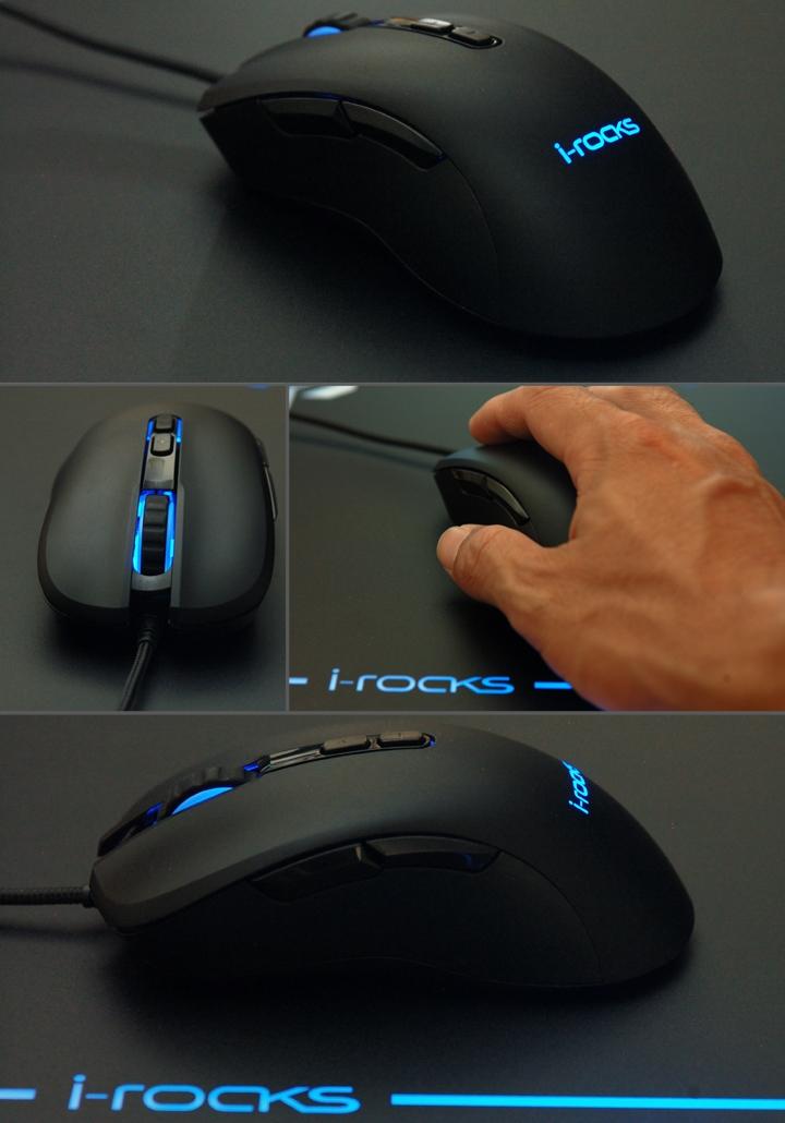 手感絕佳的吃雞神器《 i-Rocks M35 RGB 光磁微動滑鼠 》開箱分享 - 27