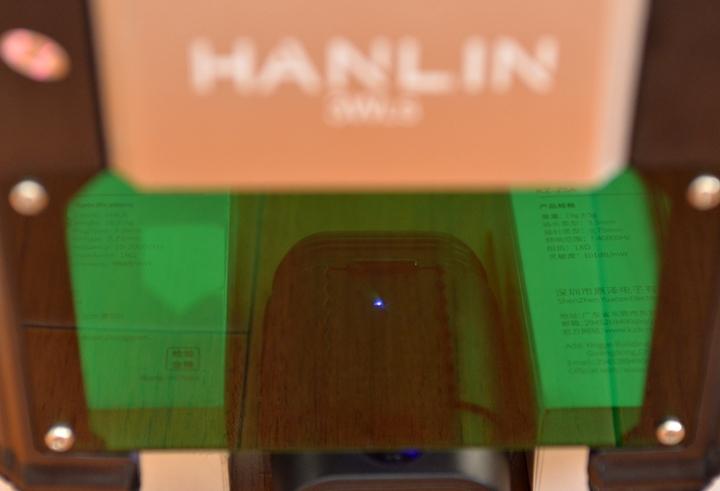 《 HANLIN 3WLS 升級3W迷你雷射雕刻機 》一機在手樂趣無窮~