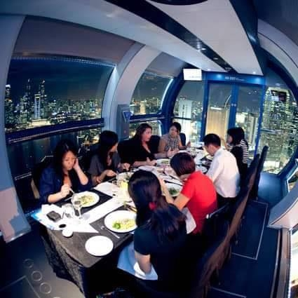 private singapore flyer sky dining capsule - 425×425