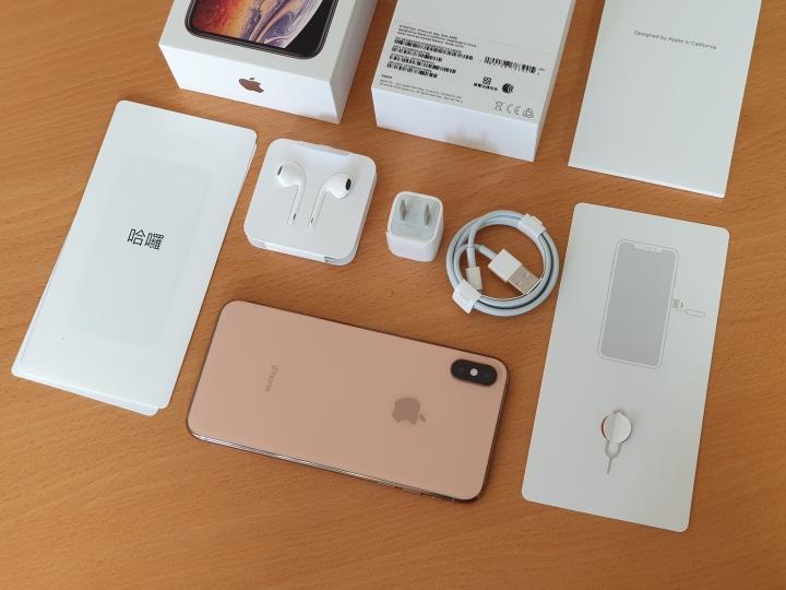 慢來的開箱 iphone Xs Max 金色 上手 - 7