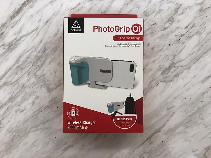 [開箱] 拍照不求人 自拍遠照通通自己來 - Adonit PhotoGrip Qi專業握把 - 3