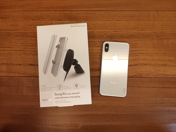 [開箱] Moshi SnapTo磁吸充電車架 讓無線充電就是這麼樸實無華且便利 - 1