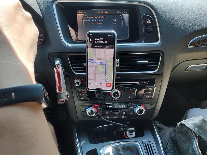 [開箱] Moshi SnapTo磁吸充電車架 讓無線充電就是這麼樸實無華且便利 - 22