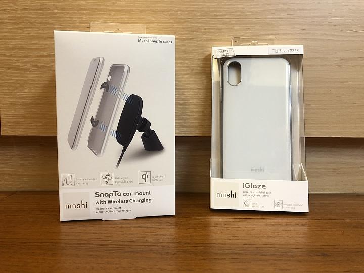 Moshi SnapTo磁吸充電車架 讓無線充電就是這麼樸實無華且便利
