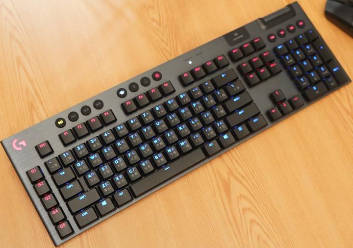『羅技 G913 LIGHTSPEED無線 RGB GL clicky機械式遊戲鍵盤』Logitech G最強新世代電競力作