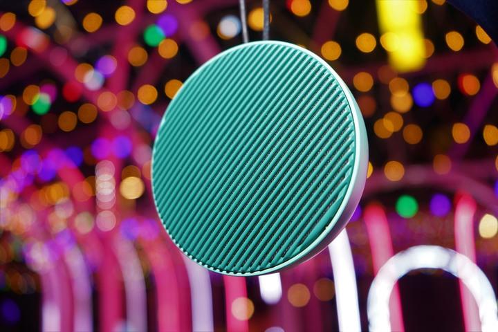 丹麥 Vifa City 無線藍芽喇叭/極簡美型360度音效 環繞多色的躍動音符