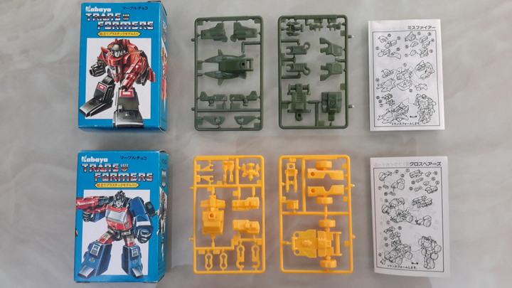 【玩情懷收回憶】1980、1990年代可變小模型(食玩/盒玩/扭蛋)