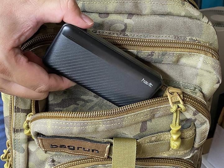 【Havit 海威特】雙USB輸出行動電源H584 10000mAh大容量提供即時電力 - 7