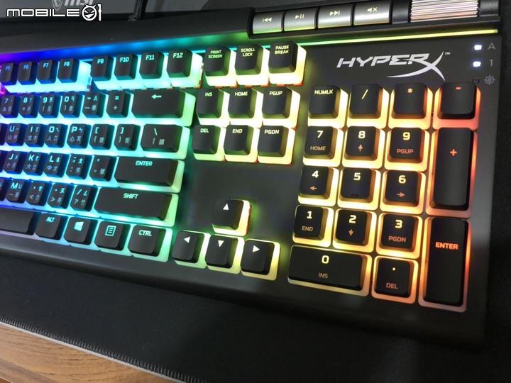 開箱 【Kingston金士頓】HyperX Alloy Elite 2 機械式電競鍵盤