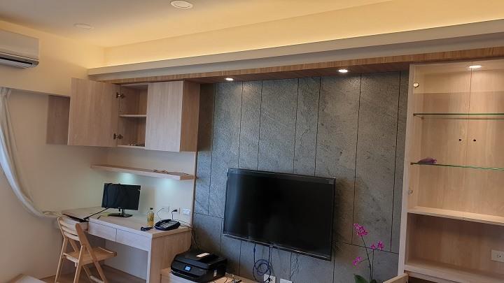 裝潢後的客廳-裝潢實案例-PULO裝潢平台