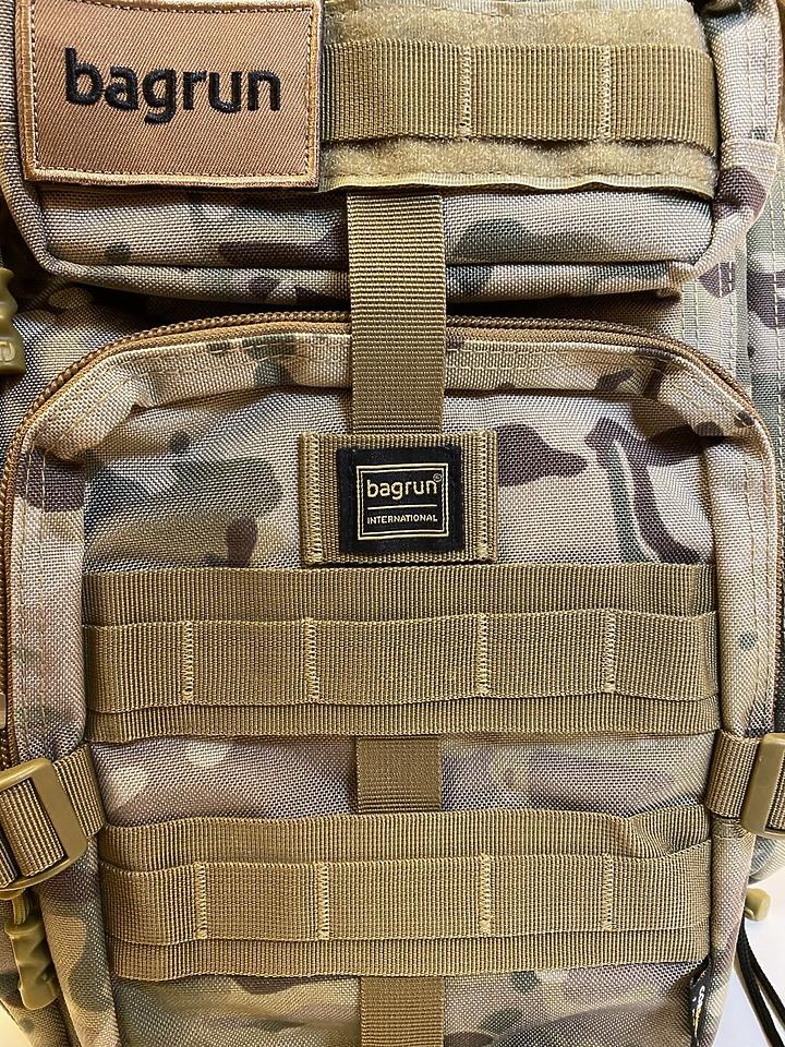 bagrun 二代都會玩家軍事風格瞬開後背包 一款多功能/好背/好看的背包 - 13