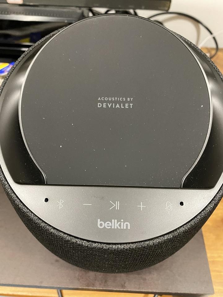 可無線充電的純淨的好聲音 - belkin soundform elite hi-fi smart speaker (台灣還未上市)