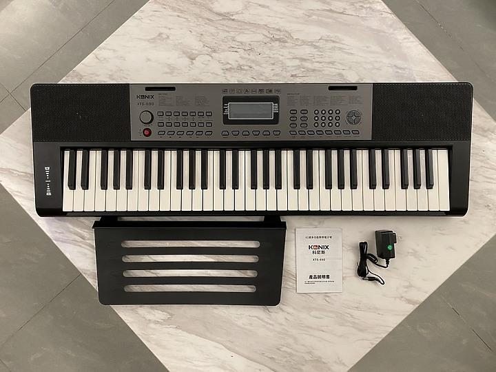 自彈自唱不是夢:【KONIX】61鍵多功能電子琴S690 教學電鋼琴讓彈琴也可以變簡單 - 3