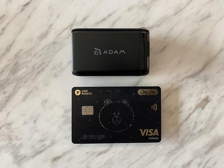日常旅遊必備三寶 ADAM GRAVITY X1行動電源、OMNIA F6 65W與OMNIA P...9010