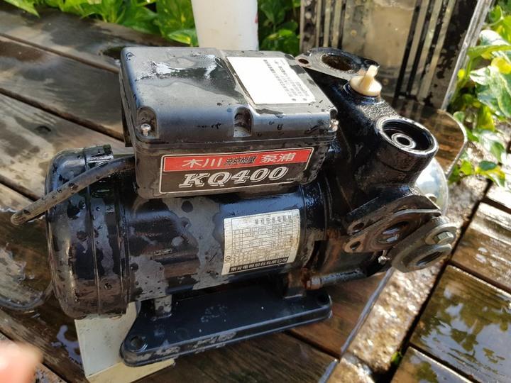 簡述家用加壓機構造與維護   木川KQ400型流控恆壓泵浦