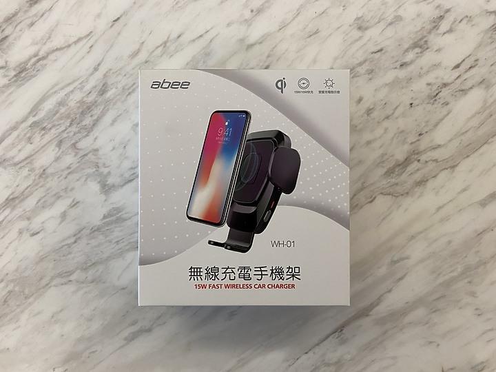 abee WH-01 無線充電手機架 qi認證 15W快充 單手操作好方便2366