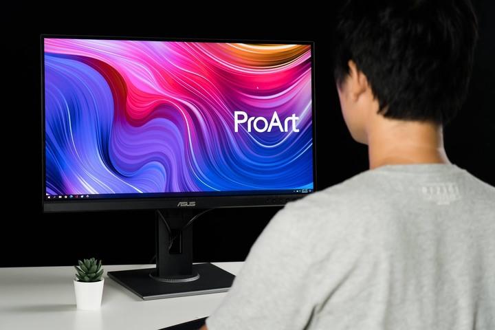 色彩誤差值超低的創作者螢幕ASUS ProArt PA278QV