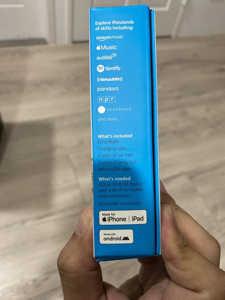 真正Hands-Free的耳機 - Amazon Echo Buds開箱分享 (同場加映Anker/Jabra小PK)