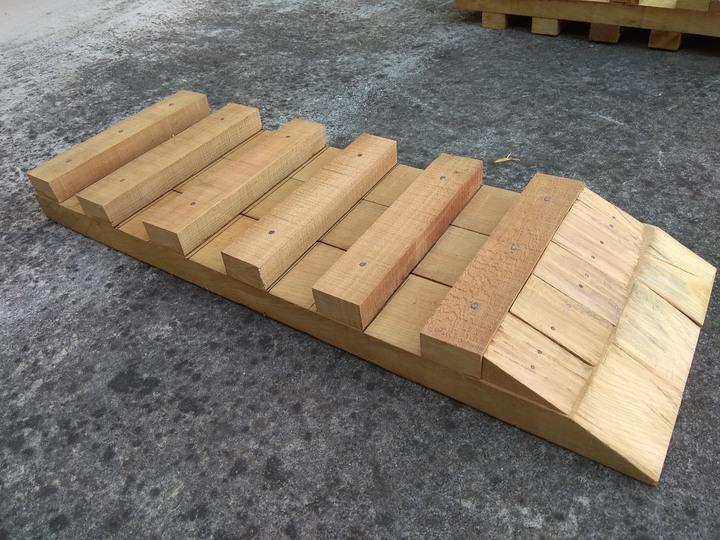 手工木製保養斜坡道