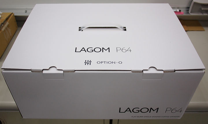 OPTION-O Lagom P64平刀磨豆機